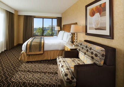 Bedroom | 1 King 1 Bedroom Suite Sofabed with Tub | DoubleTree Suites by Hilton Hotel Anaheim Resort - Convention Center