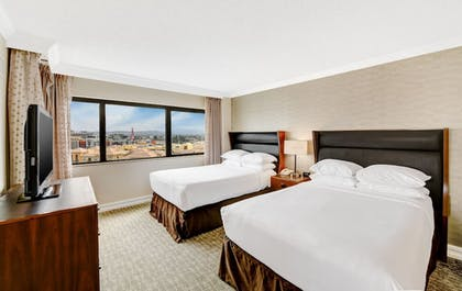 Double Beds | 2 Room Suite - 2 Double Beds - 1 Bedroom | Embassy Suites by Hilton Anaheim - Orange