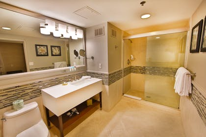Bathroom | Forum Tower Mini Suite  | Caesars Atlantic City