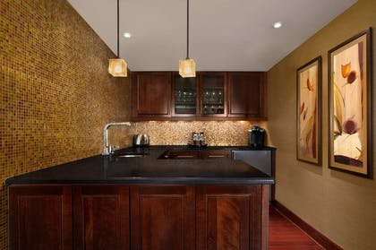 Presidential Suite Kitchen | 2 Bedroom Suite - 1 King - 2 Queens - Sofabed | Embassy Suites by Hilton Baltimore Inner Harbor