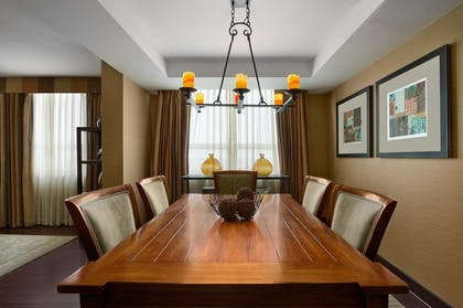 Luxury Suite Dining Room | Luxury 2 Bedroom Suite - 1 King - 1 Queen - Sofabed | Embassy Suites by Hilton Baltimore Inner Harbor