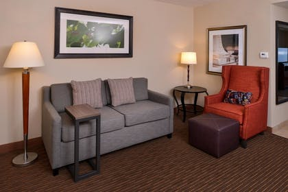 Living Area | 1 King Bed Junior Suite | Hilton Garden Inn Baltimore/White Marsh