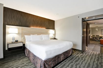 King Bed | 2 Room Conference Suite - 1 King Bed | Embassy Suites by Hilton Charlotte