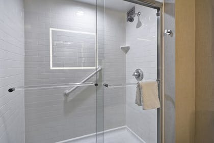 Shower | 2 Room Conference Suite - 1 King Bed | Embassy Suites by Hilton Charlotte
