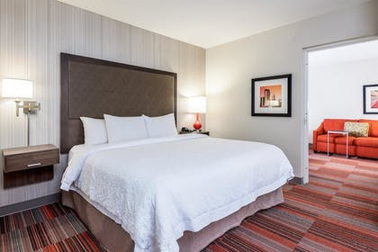 Suite Bedroom | 1 King Bed Deluxe Room | Hampton Inn Charlotte-Uptown