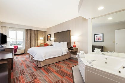 Whirlpool Suite | 1 King Bed Mini Suite with Whirlpool | Hampton Inn Charlotte-Uptown