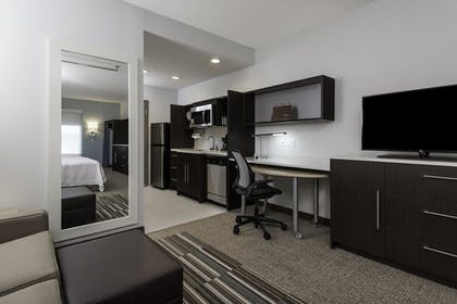 living area.jpg | 1 King Bed Studio Suite Non-smoking | Home2 Suites by Hilton Charlotte University Research Park