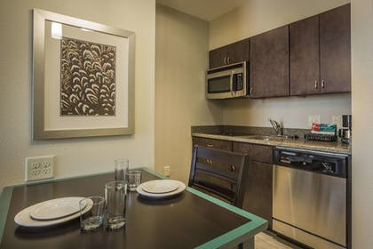 Kitchen Area | 1 King Bed 1 Bedroom Suite | Homewood Suites by Hilton Charlotte Ballantyne, NC