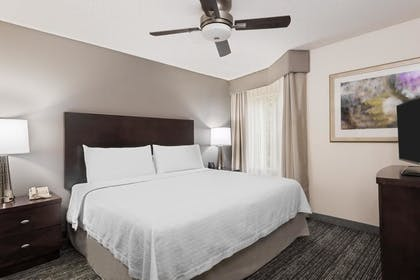 King Bed | 1 King Bed 1 Bedroom 573 Sq Ft Exterior Entry | Homewood Suites by Hilton Charlotte-North/Univ Research Park