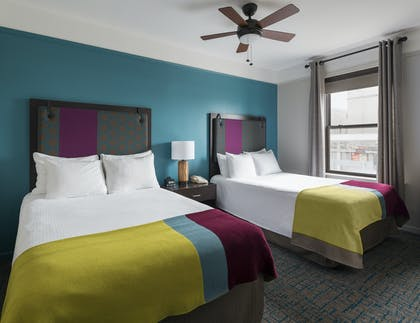 Beds | Double Suite | City Suites Chicago