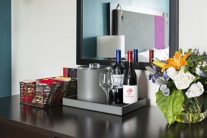 Minibar | Double Suite | City Suites Chicago