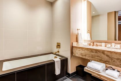 Bathroom | Conrad Presidential Suite - 1 King | Conrad Chicago