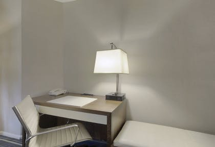 Desk Area | One Bedroom Suite | Double + Deluxe King | Fairmont Chicago Millennium Park