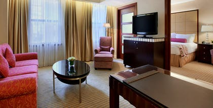 Living Room and Bedroom | Millennium Suite | Millennium Knickerbocker Chicago