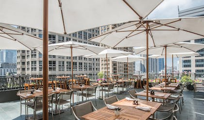 Outdoor Restaurant | Park Hyatt Chicago