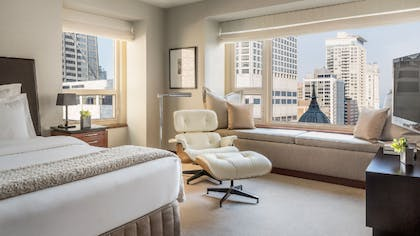 Bedroom View | Park Executive Suite + Park Twin | Park Hyatt Chicago
