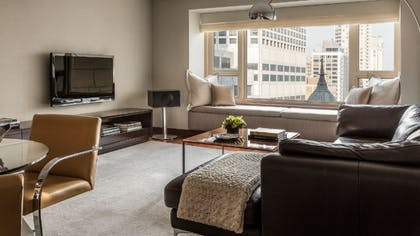 Living Room 2 | Park Executive Suite + Park Twin | Park Hyatt Chicago