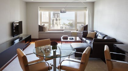 Living Room | Park Executive Suite + Park Twin | Park Hyatt Chicago