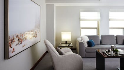 Living Room | Park Suite + Park Twin | Park Hyatt Chicago