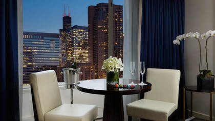 Dining Table | Deluxe Suite | King + Deluxe King | The Peninsula Chicago