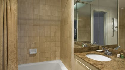 Bathroom | Delaware Penthouse Suite | The Tremont Chicago Hotel at Magnificent Mile