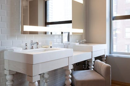 Bathroom | Grand Chamber Suite + Chamber Double | Virgin Hotels Chicago