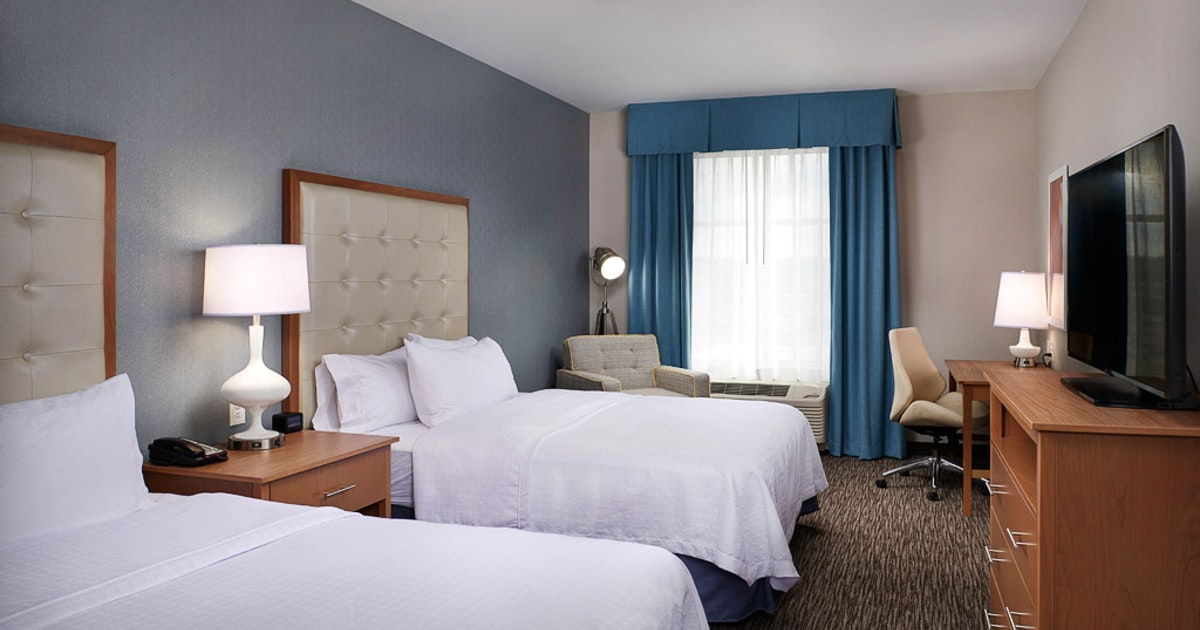 2 Queen Beds 1 Bedroom Suite At Homewood Suites By Hilton