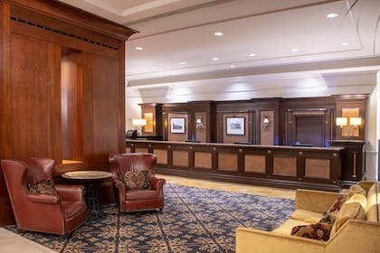 Front Desk Lobby | The Antlers, A Wyndham Hotel