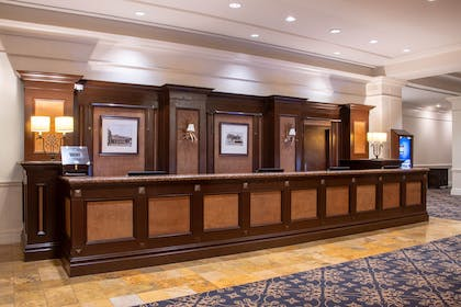 Front Desk | The Antlers, A Wyndham Hotel