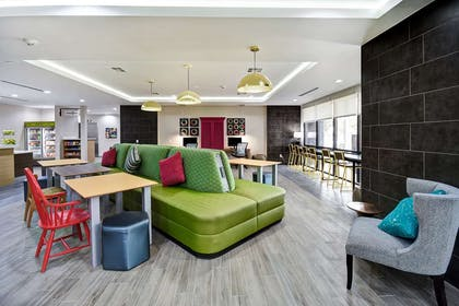 Lobby Seating | Home2 Suites by Hilton Fort Worth Fossil Creek