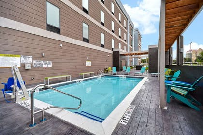 Pool | Home2 Suites by Hilton Fort Worth Fossil Creek