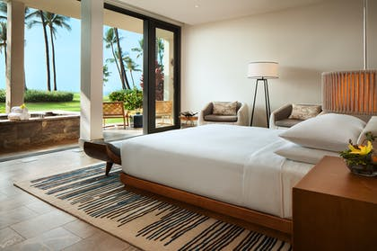 Bedroom | Four Bedroom Oceanfront Villa | Andaz Maui at Wailea Resort