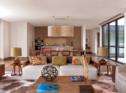 Living Room | Three Bedroom Garden View Villa | Andaz Maui at Wailea Resort