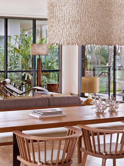 Dining Area | Three Bedroom Oceanfront Villa | Andaz Maui at Wailea Resort