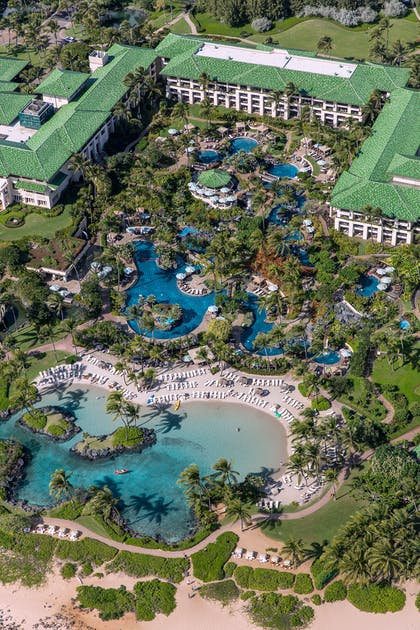 Aerial Pools | Grand Hyatt Kauai Resort & Spa