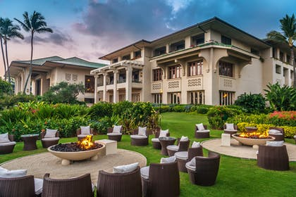 Fire Pit | Grand Hyatt Kauai Resort & Spa