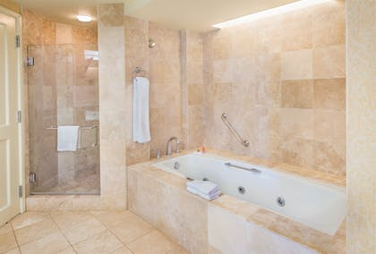 Bathroom | Deluxe Suite + Deluxe Ocean View King | Grand Hyatt Kauai Resort & Spa