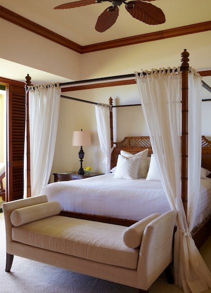 Bedroom | Presidential Suite | Grand Hyatt Kauai Resort & Spa