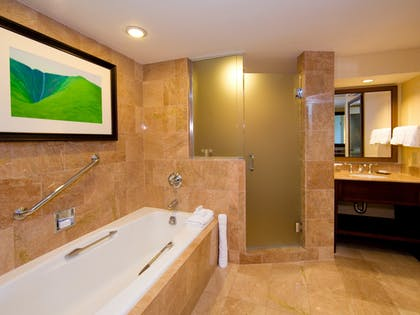 Palace Suite Bathroom | Palace Suite - 1 King Bed - 1 Queen Sofabed | Hilton Waikoloa Village