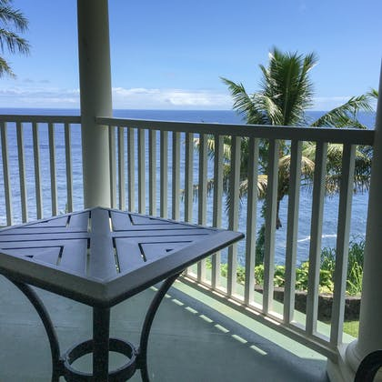 Porch | Paradise Views Suite | The Palms Cliff House Inn