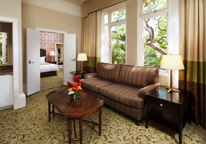Historic Garden Jr Suite | Garden Junior Suite + Historic Garden Room | The Royal Hawaiian, a Luxury Collection Resort