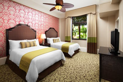 Historic Room Double | Garden Junior Suite + Historic Garden Room | The Royal Hawaiian, a Luxury Collection Resort