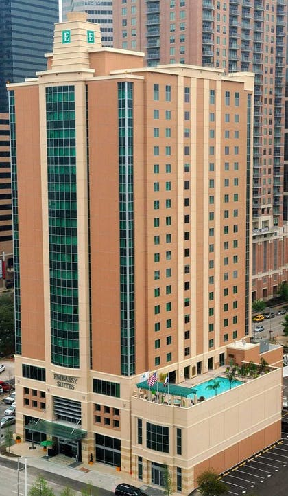 exterior day shot | Embassy Suites by Hilton Houston Downtown