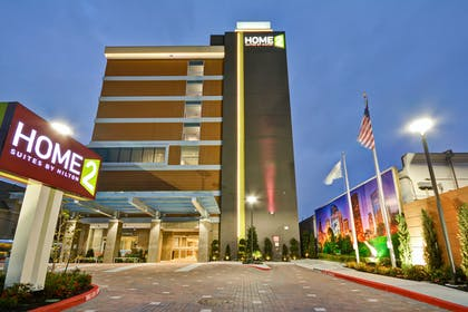 Exterior Night View | Home2 Suites by Hilton Houston Near the Galleria