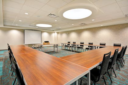Meeting Room View | Home2 Suites by Hilton Houston Near the Galleria