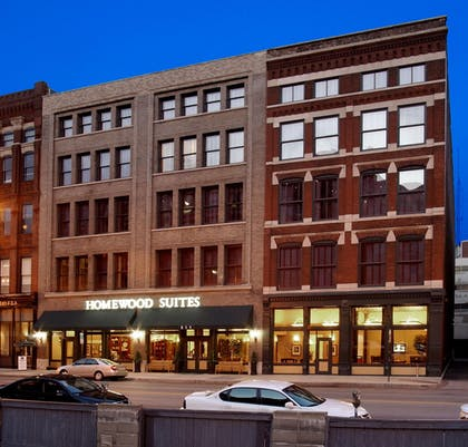 Hotel Exterior | Homewood Suites by Hilton Indianapolis-Downtown