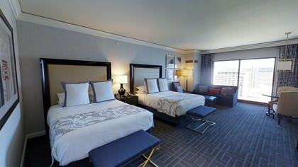 Connecting Queen Room | Augustus Executive Suite + 2 Queens | Caesars Palace