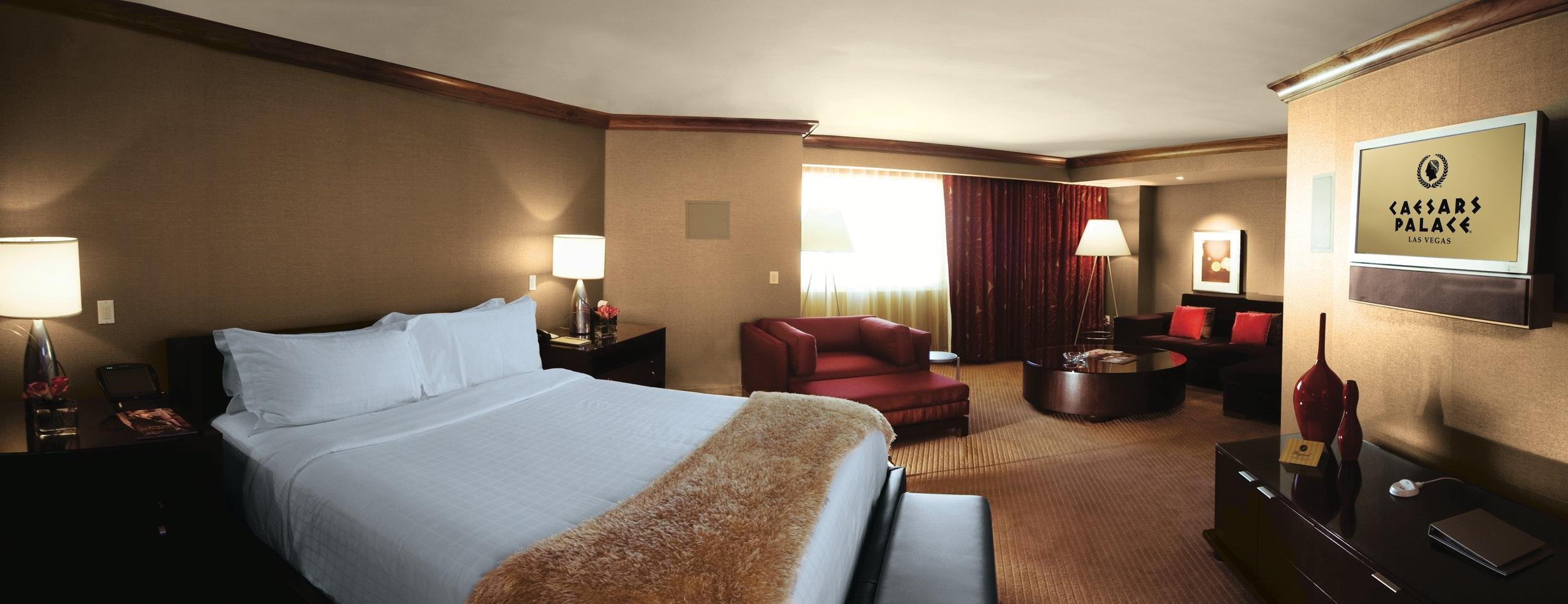 Forum classic emperor suite 2 kings 2 queens 1 king caesars palace suiteness for Caesars palace 3 bedroom suite