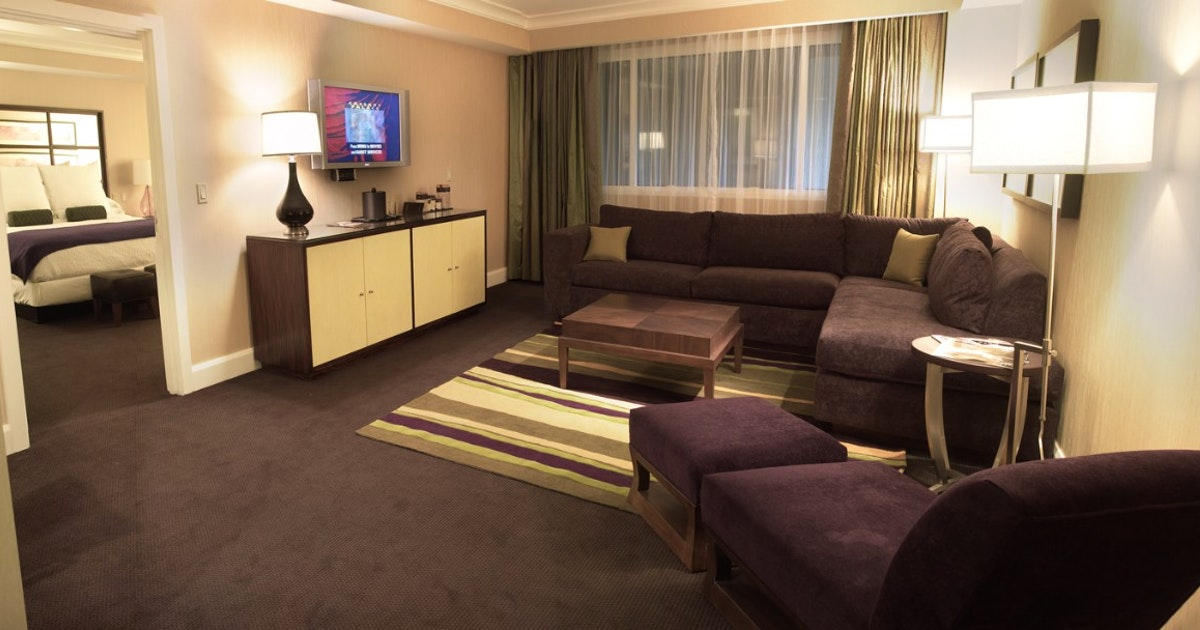 Forum Petite Suite + 2 Queens at Caesars Palace | Suiteness — Stay connected