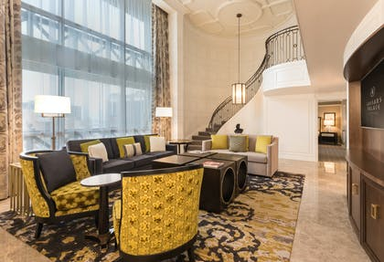Living area | Julius Executive Duplex | Caesars Palace